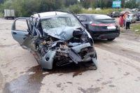 Авария произошла напротив лыжной базы «Динамо».