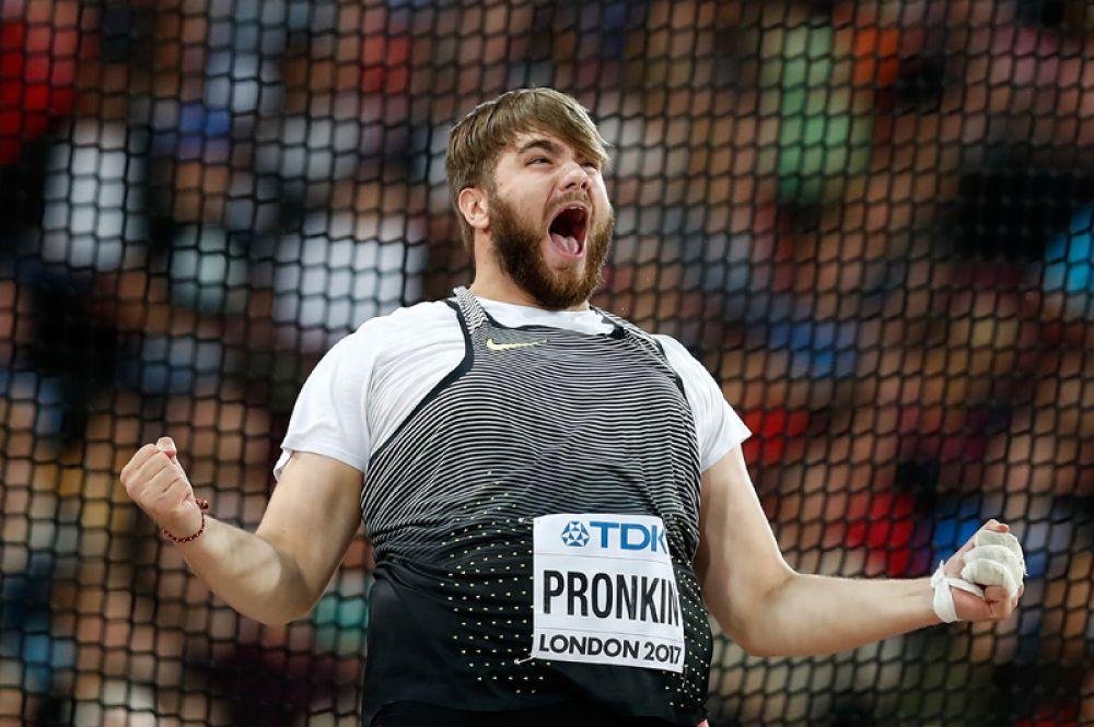 Ещё одну серебряную медаль завоевал легкоатлет Валерий Пронкин.