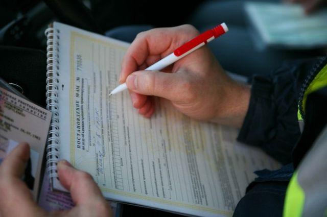 В ГИБДД проводят проверку и намерены привлечь водителя к административной ответственности.