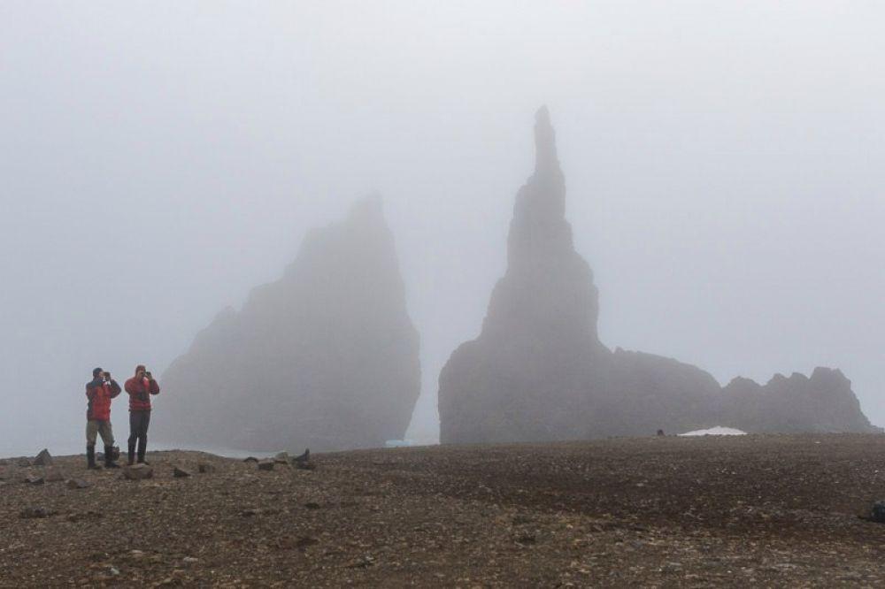 Мыс Тегетхоф острова Галля