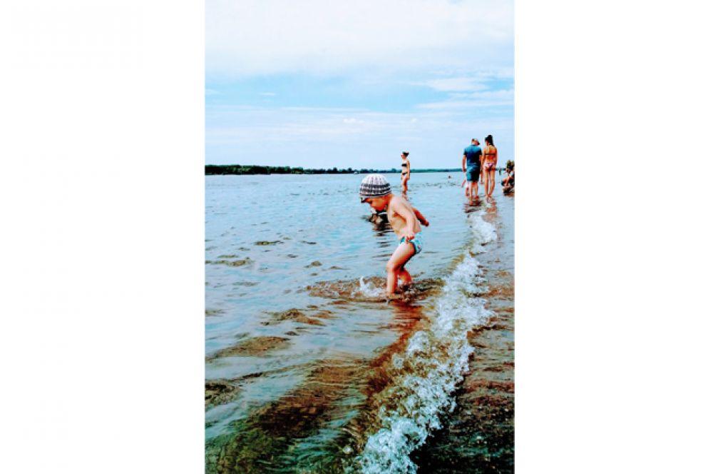 Мирон Яковлев. Это лето - просто чудо! Мы в Оби купаться будем! Мы в Сибири крепыши, даже если малыши!