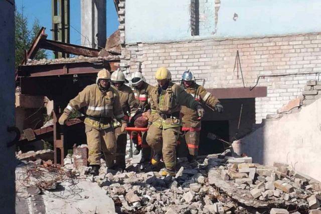 ВКотласе обрушилось строение котельной, под завалами которого умер человек