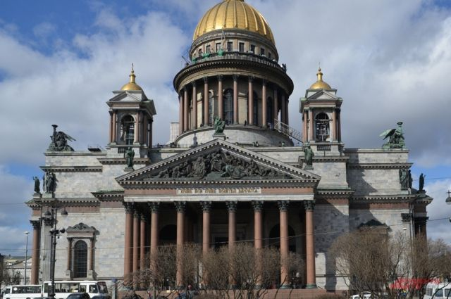 Горсуд Петербурга нестал обговаривать референдум остатусе Исаакия