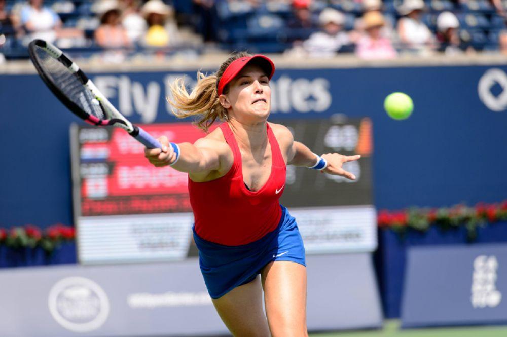 Канадская теннисистка Эжени Бушар — на девятой строчке. Её доход составил 7,1 миллионов долларов.