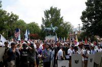 Памятник генералу Роберту Эдварду Ли в Шарлоттсвилле.