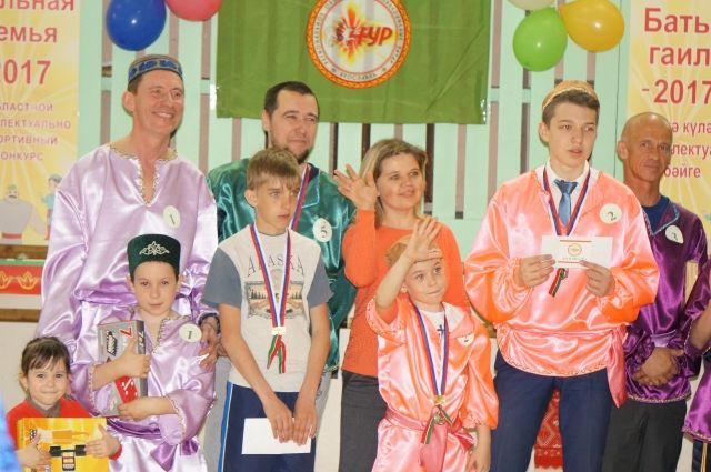 Конкурс «Сильная семья-2017» прошёл при поддержке Республики Татарстан и правительства Ярославской области.