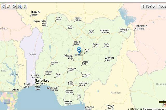 Жертвами взрыва нарынке вНигерии стали 27 человек