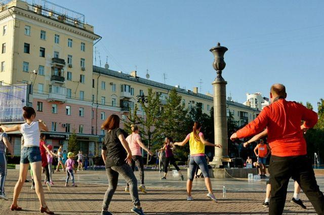 Нулевой километр в Барнауле