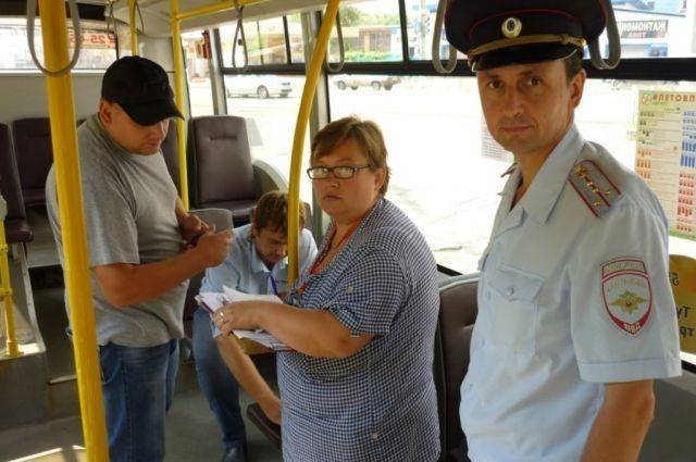 ВТуле— масштабная проверка пассажиров публичного транспорта