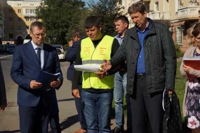 В областной столице комиссия начала принимать отремонтированные дороги.