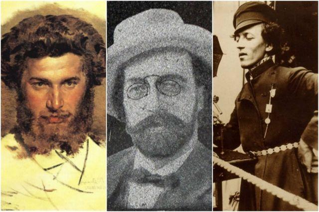 Знаменитые таганрожцы Архип Куинджи, Валериан Молла, Анатолий Дуров.
