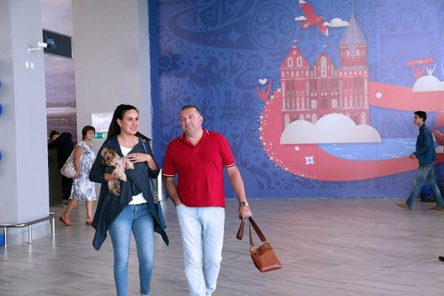Путину показали новый терминал калининградского аэропорта «Храброво».
