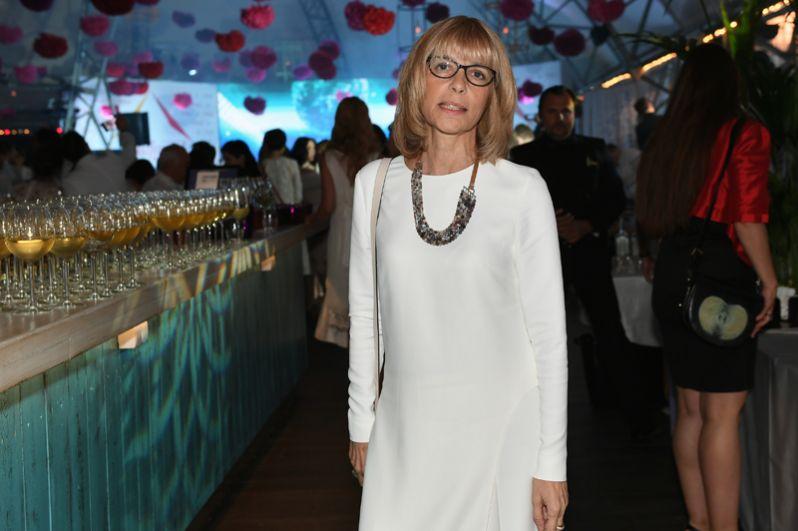 Режиссёр и актриса Вера Глаголева на вечеринке The Hollywood Reporter в рамках 39-го Московского международного кинофестиваля в Москве. Июнь 2017 года.