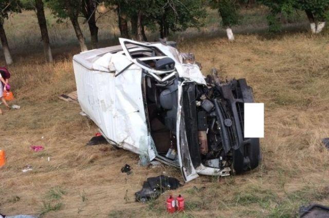 ВДТП вСтаврополье умер пассажир микроавтобуса