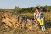 «Каменный хаос» - достопримечательность хутора Красная Балка.