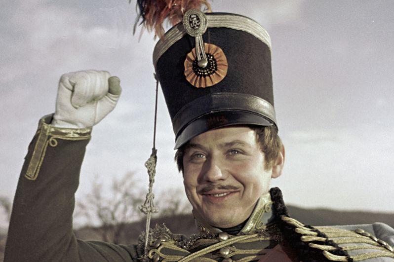 Олег Табаков в роли Николая Ростова в фильме «Война и мир». 1968 год.