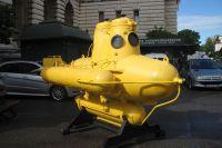 Посетители выставки узнают об истории создания аппаратов для передвижения и проживания в морской среде.