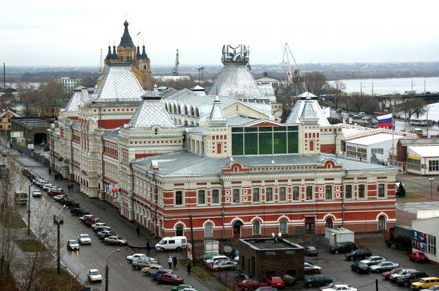 Натерритории Нижегородской ярмарки планируют снести три временных павильона