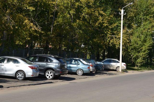 Парковка рядом с больницей №11
