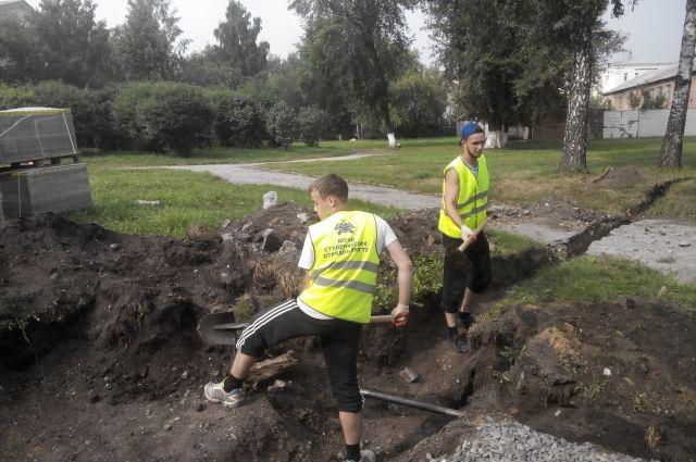 Ребята из КухГТУ трудятся и на всероссийской стройке, и в регионе.