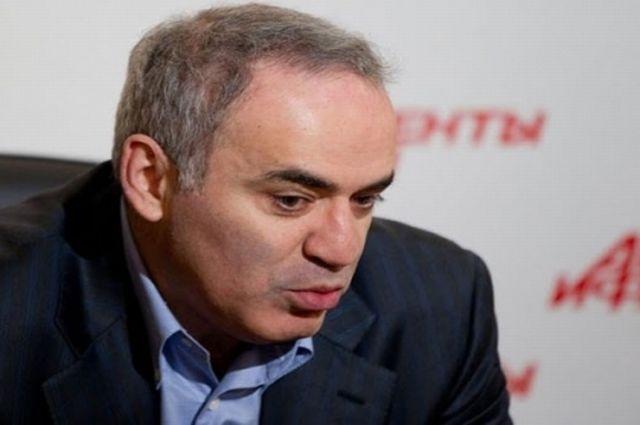 Гарри Каспаров стал восьмым нашахматном турнире вСент-Луисе