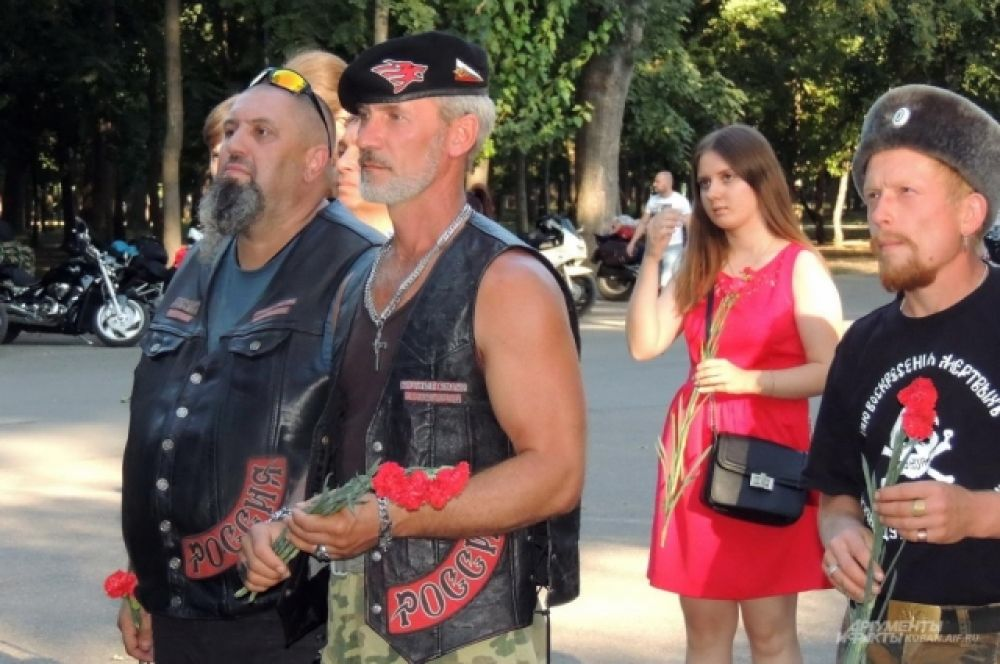 Память о Великой Отечественной войне объединяет байкеров из разных городов и мотоклубов.