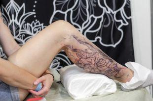 В финале конкурса сразятся восемь девушек с татуировками.
