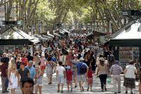 Улица Рамбала в Барселоне.
