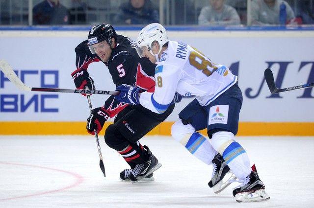 Омичи продолжают подготовку к сезону КХЛ.