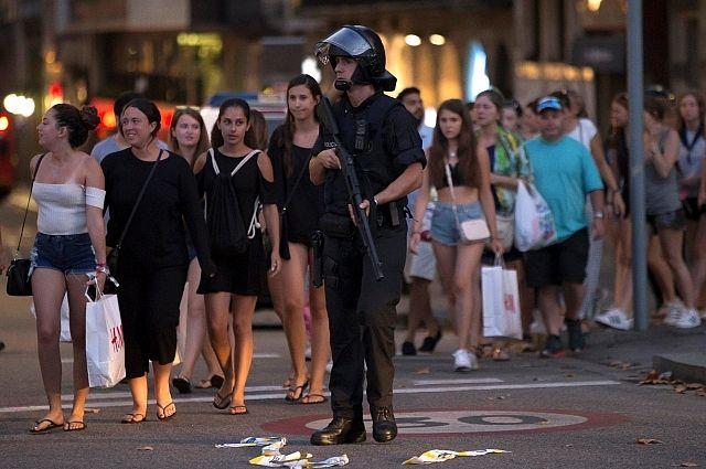 СМИ: ЦРУ предупреждало полицию Каталонии, что в Барселоне готовится теракт