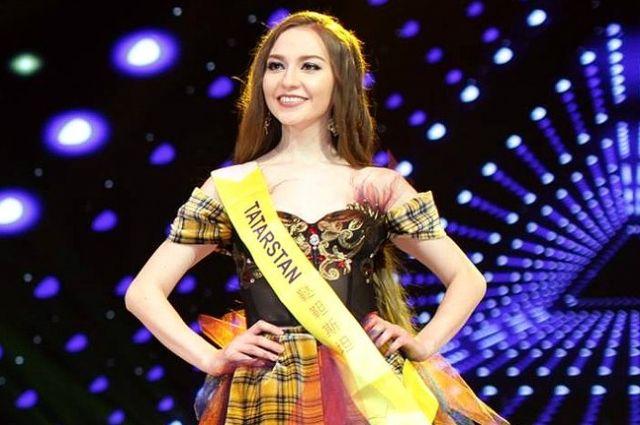 26-летняя выпускница КФУ претендует на звание самого красивого лица мира