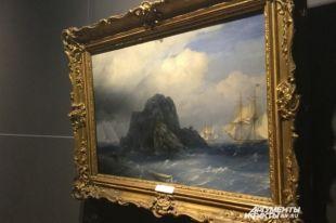 «Скалистый остров» – одна из пяти работ Ивана Айвазовского, которые находятся в коллекции Пермской галереи.