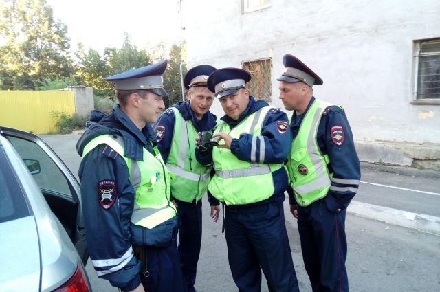 ВЧелябинске ГИБДД устроила погоню заугонщиками