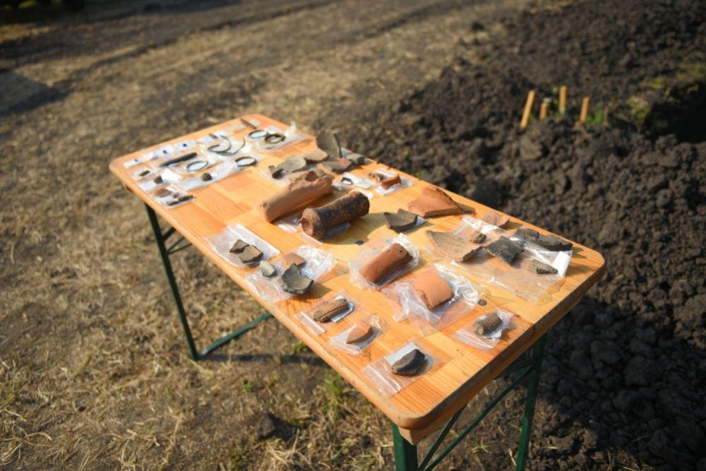 Племена древнего городища занимались земледелием и скотоводством.