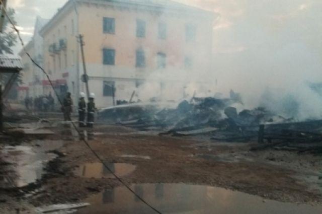 ВКоврове отсараев загорелись многоэтажки. Тоже случилось три года назад