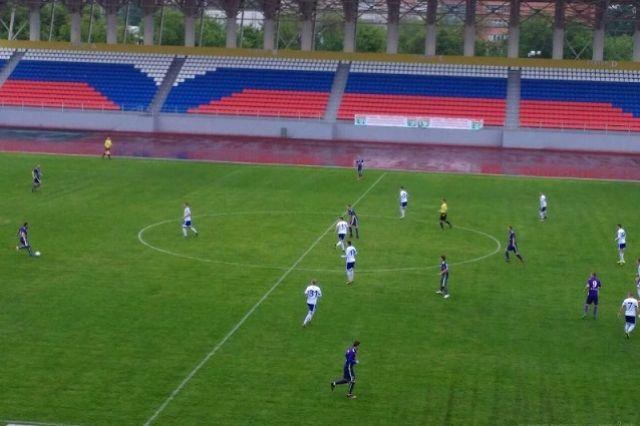 Матч завершился победой пензенцев со счетом 2:1.