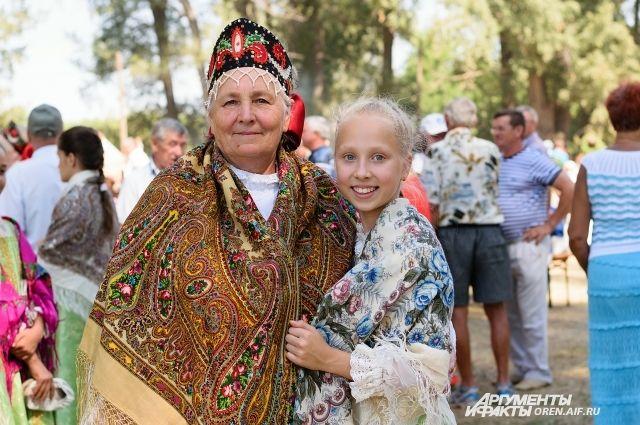 В Оренбургском районе прошел фестиваль «Легенды Руси».