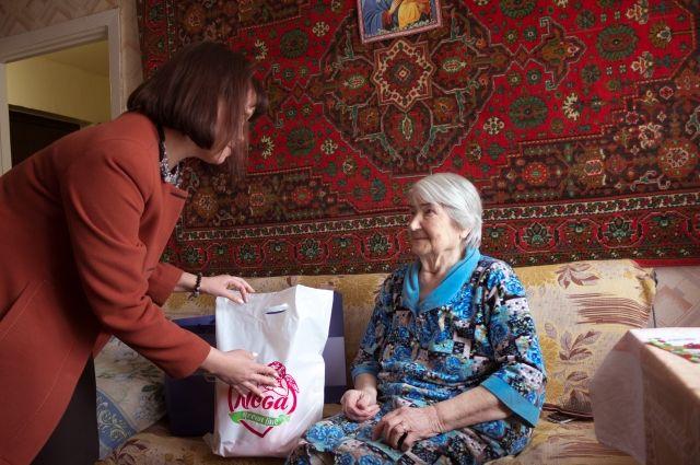 В Казанском районе предприниматель заботится о малоимущих и фронтовиках