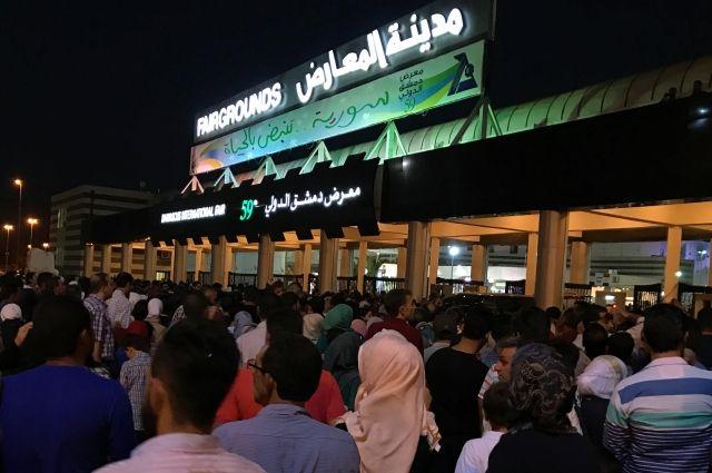 Террористы обстреляли выставку вДамаске: погибли четверо