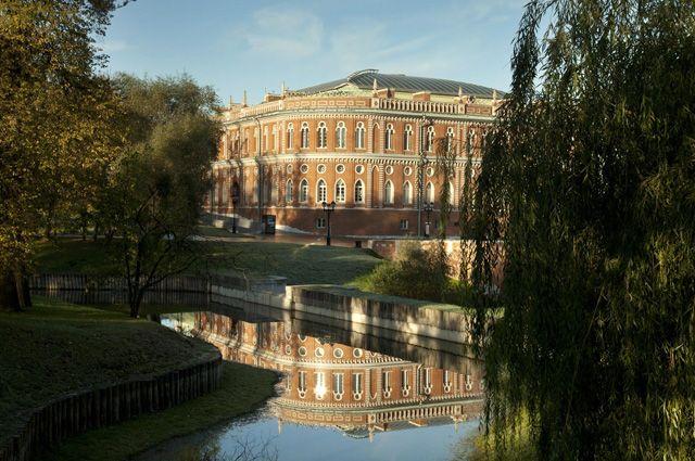 Коляска с младенцем упала в пруд в московском Царицыно