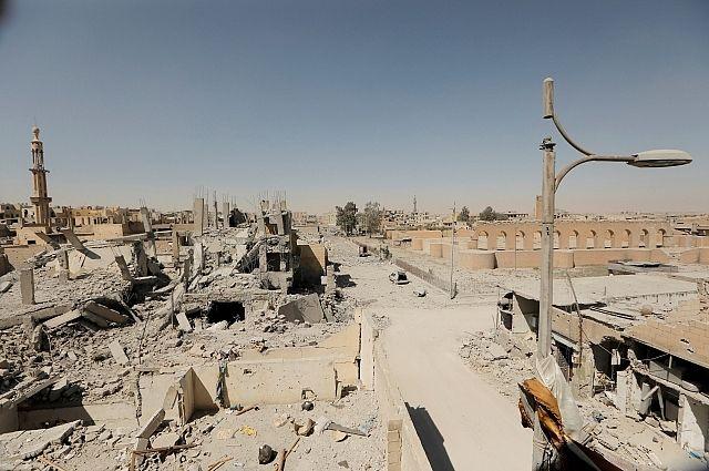 ВКС России уничтожили колонну из 200 боевиков в Сирии