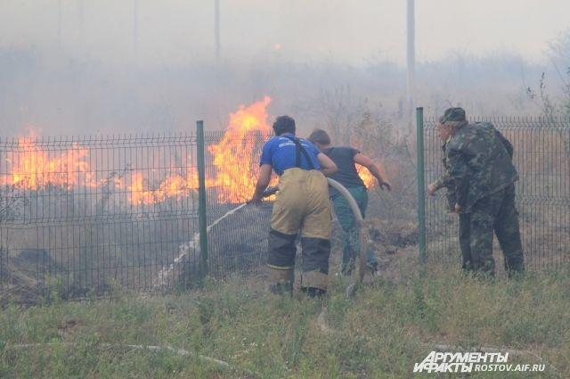 В Оренбуржье в 4 МО объявлен 5 класс пожарной опасности.