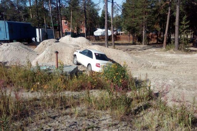 В Ноябрьске, устроившая аварию женщина, отказалась дуть в трубочку