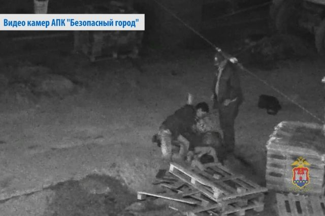 Драку зафиксировали камеры комплекса «Безопасный город».