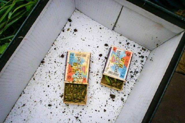 Наркотик был обнаружен в ходе обыска.