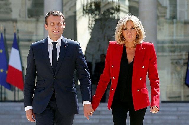 Жена Макрона получила должность в представительстве Франции