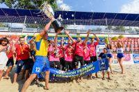 «Выбор» - трехкратный чемпион Украины по пляжному футболу!