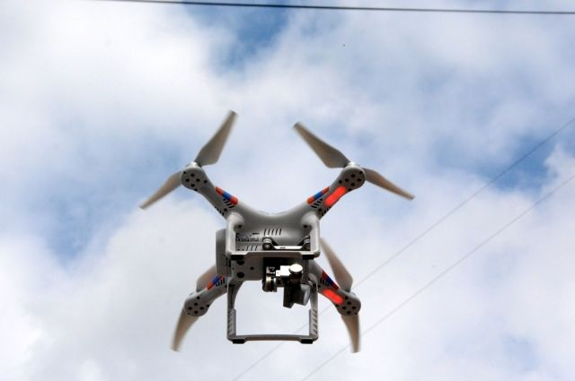Квадрокоптеры можно использовать для наблюдения за объектами.