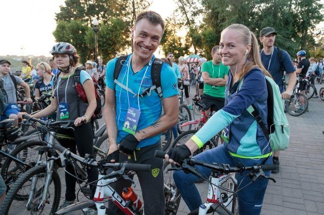 Красноярцев приглашают на пресс-конференцию по подготовке к первой красноярской велоночи.
