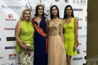 Зульфия Шарафеева (в синем платье) победила во всероссийском конкурсе «Мисс туризм-2017».